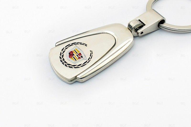 "Брелок металлический с логотипом ""Cadillac"" «Silver»"