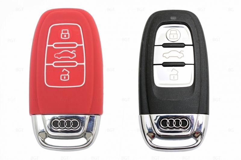 Чехол для ключа Audi «Брелок», Силиконовый
