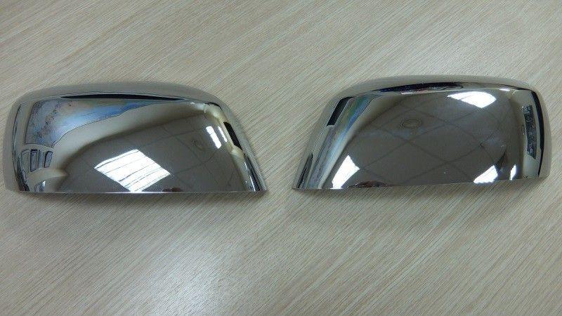 Накладки на зеркала, 2 части «Abs хром» «с повтор.поворота» для NISSAN Navara
