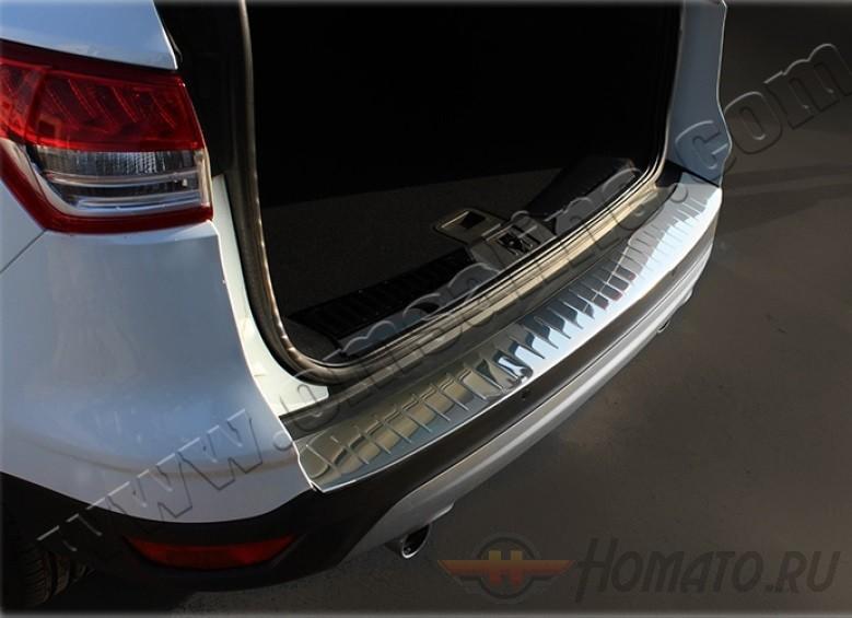 Накладка на задний бампер для FORD Kuga 2013+ : нержавеющая сталь
