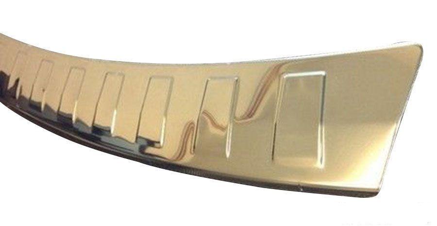 "Накладка на задний бампер, нерж. «матированная» для AUDI Q5 ""08-/""12-"