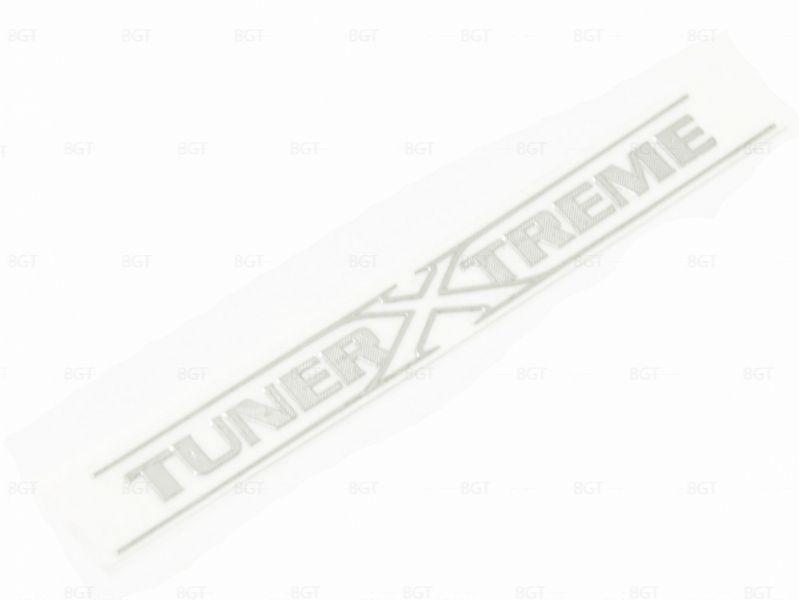"""Шильд """"TunerXtrme"""" Универсальный, Самоклеящийся, 1 шт. «80mm*8mm»"""