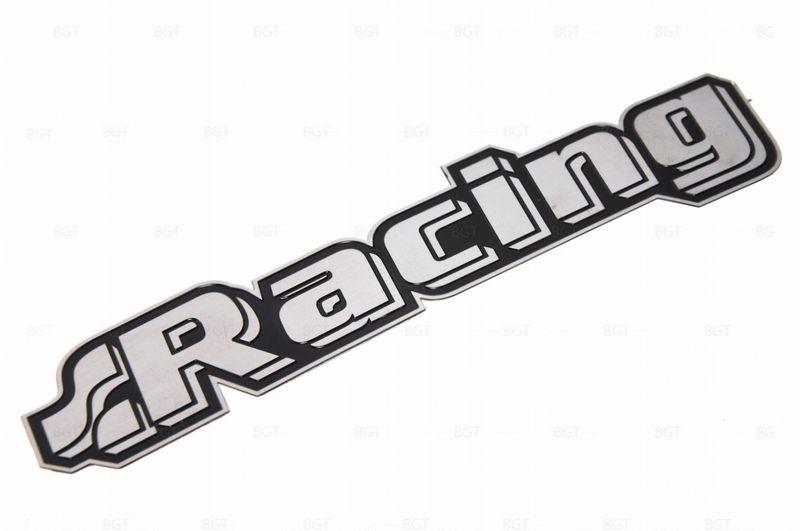 """Шильд """"Racing"""" Универсальный, Самоклеящейся, 1 шт. «119mm*22mm»"""
