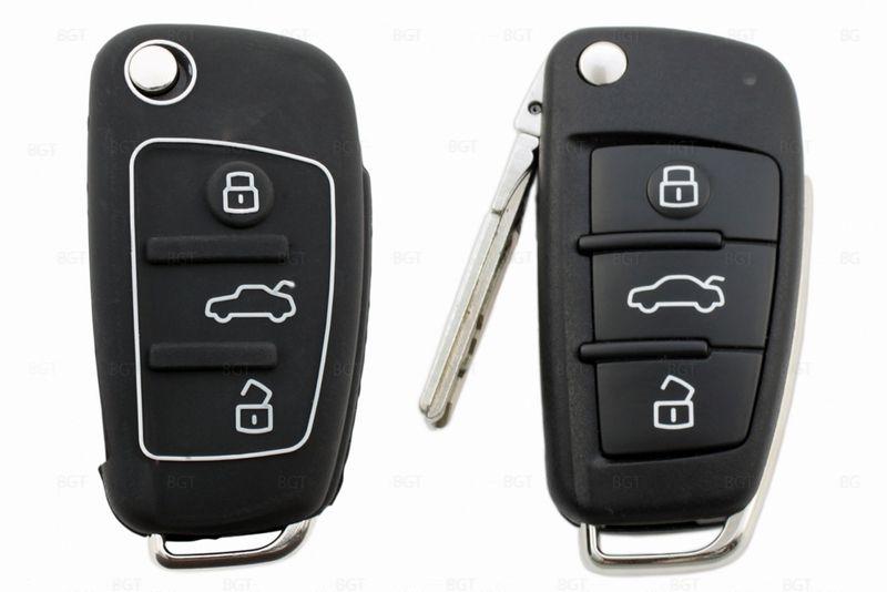 Чехол для ключа Audi «Брелок», Силиконовый вар.1