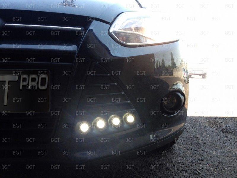 Дневные ходовые огни для Ford Focus III Sedan, Hatchback, Wagon «2011+»