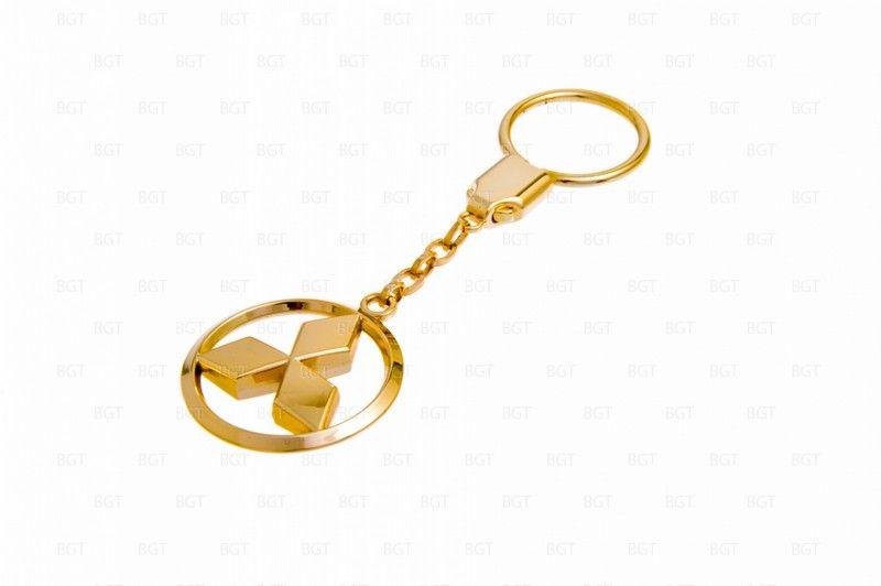Брелок Mitsubishi цвет «золото»
