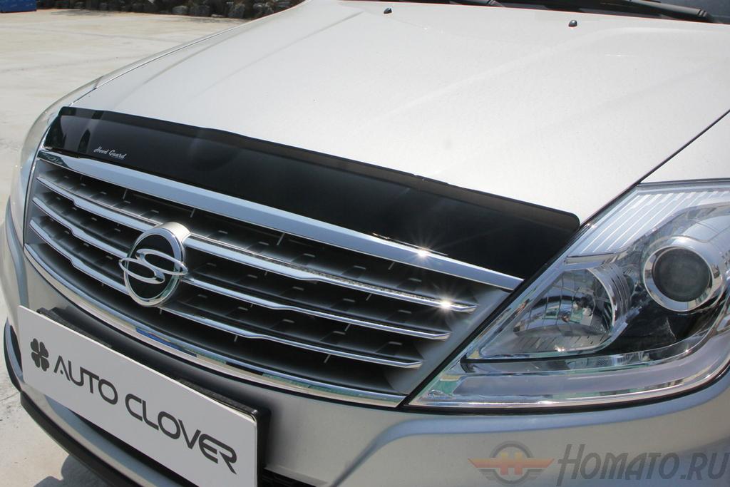 Дефлектор капота (акрил) Autoclover «Корея» для Ssangyong Rexton 2007+/2012+