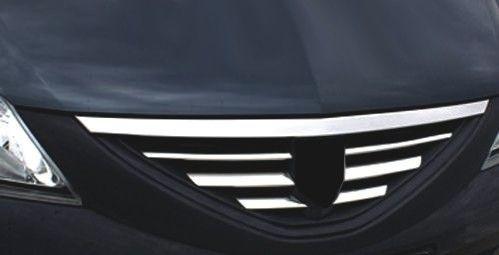 Накладка на решетку радиатора «Sedan», 6 частей для RENAULT Logan