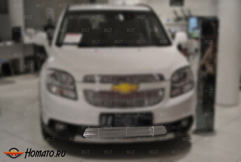 Решетка в бампер для Chevrolet Orlando 2010+ «Grille Bottom» НИЖНЯЯ