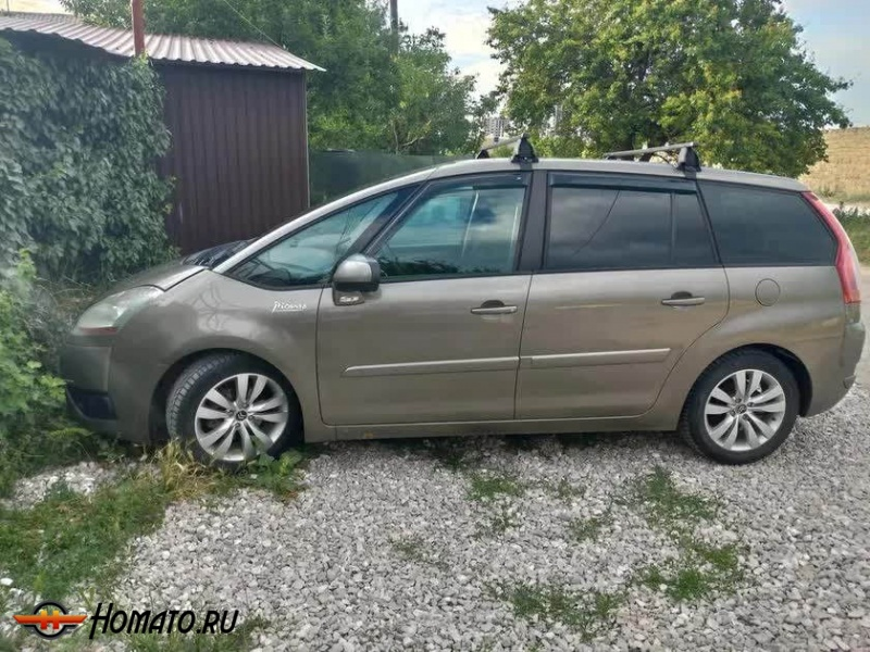 Дефлекторы окон Citroen C4 Grand Picasso I 2007-2013 | Cobra
