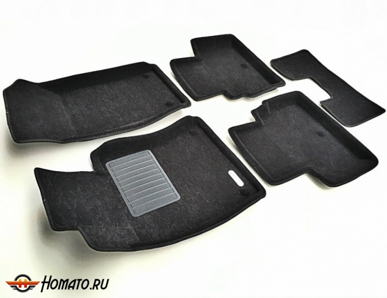 3D коврики для BMW X3 (E83) (2006-2010) | BUSINESS: 4 слоя
