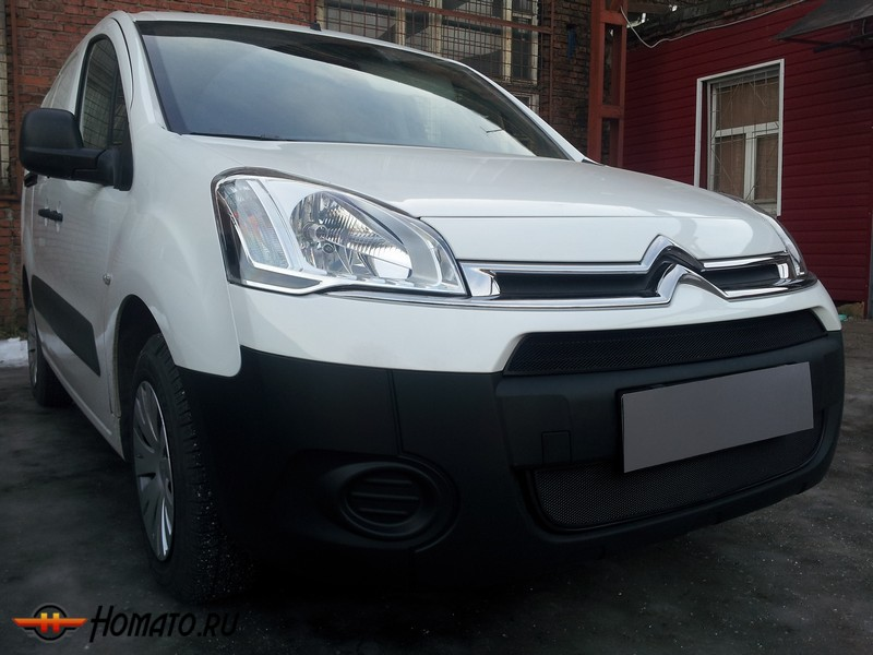 Защита радиатора для Citroen Berlingo (2012-2015) рестайл | Стандарт