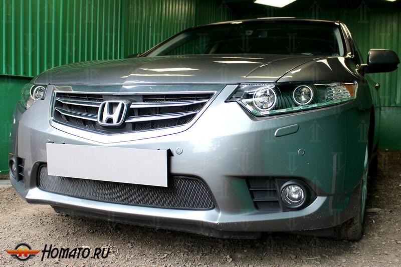 Защита радиатора для Honda Accord 8 (2011-2013) рестайл | Стандарт